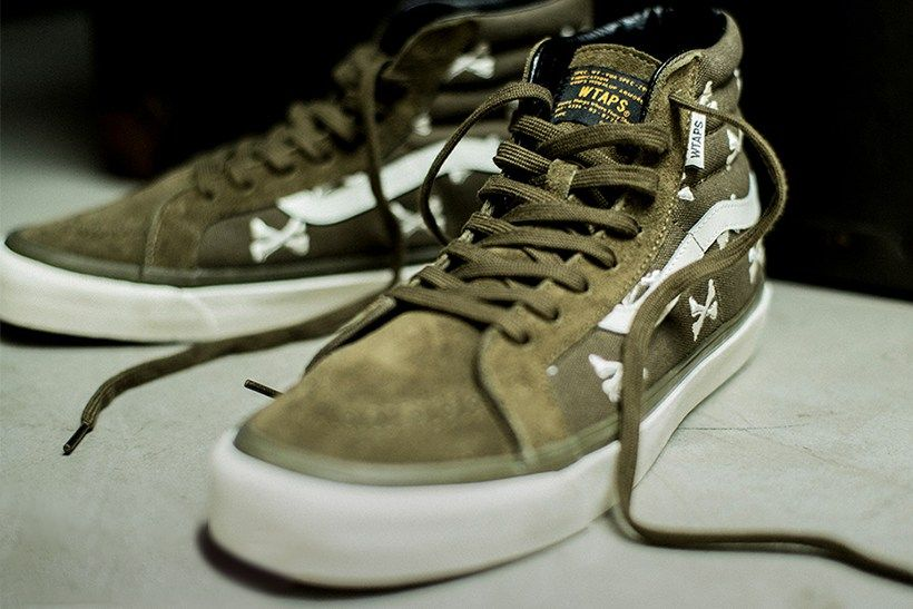 A Closer Look at the Vans Vault x WTAPS's Collection