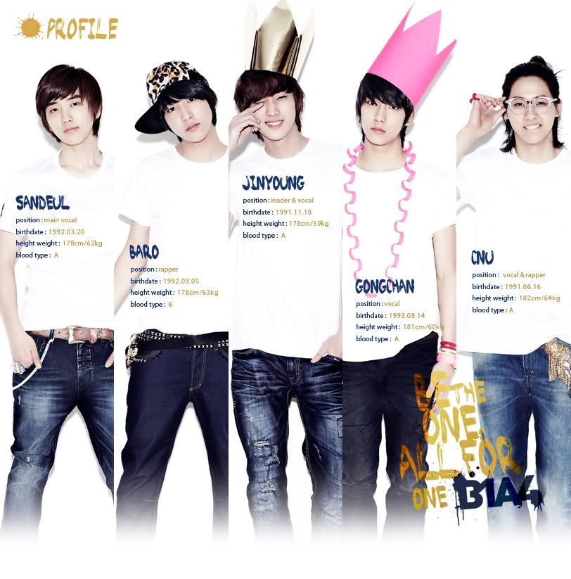 B1a4 Be The One All For One B1a4 Jinyoung Baro