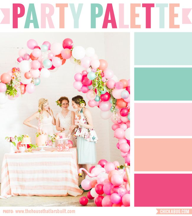 party palette flamingo pop party