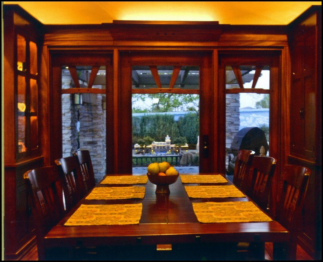 Greene greene inspired dining room custom made by heart of oak greene greene inspired dining room custom made by heart of oak workshop dzzzfo