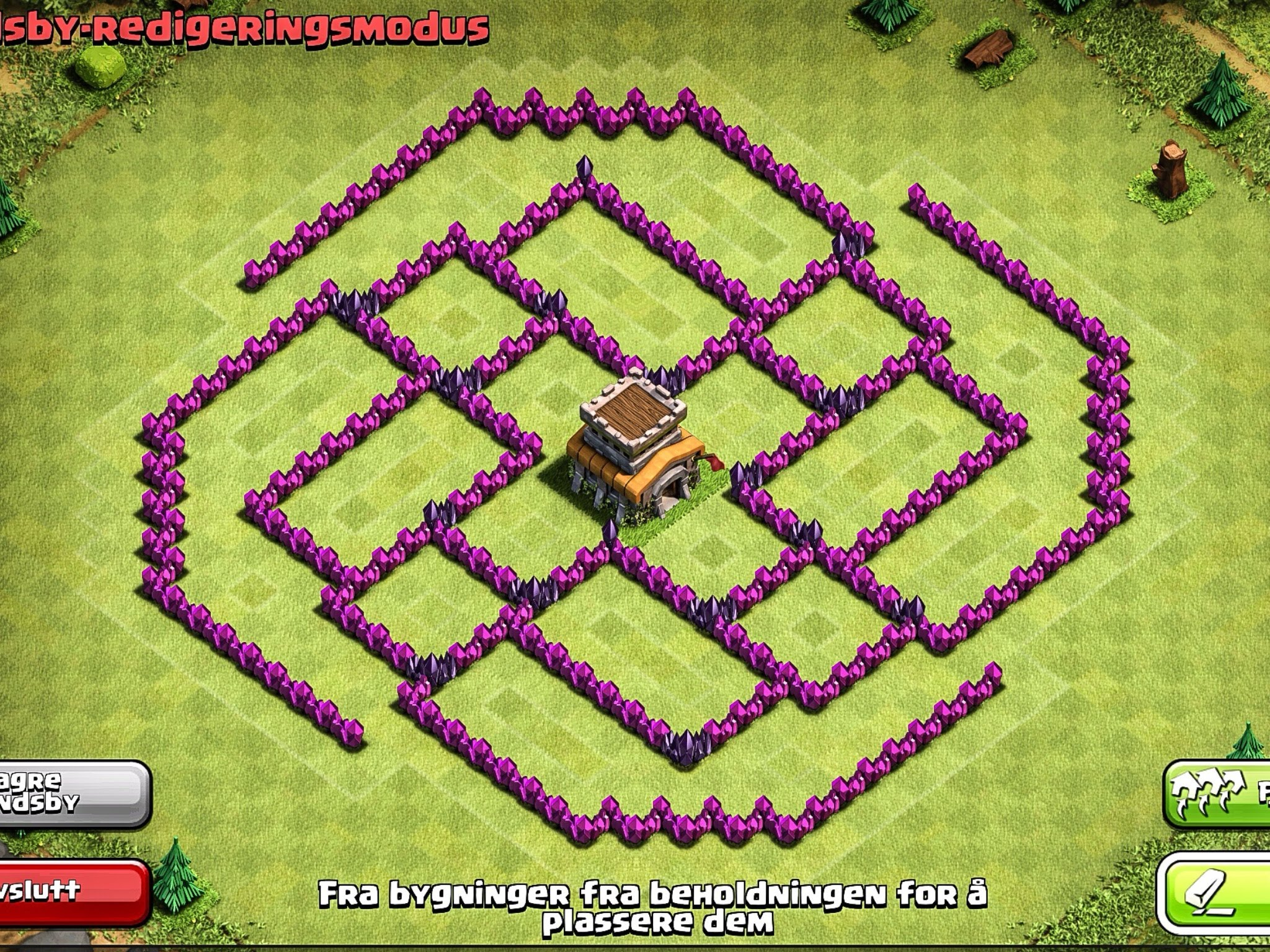 epic town hall 8 trophy base the ball clash of clans clash of