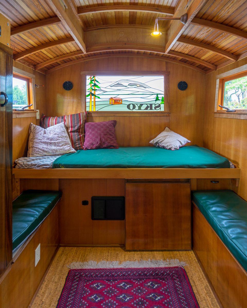 small camper interior design Russ's Gypsy Wagon with
