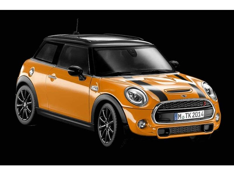 Mini Cooper Model Orange 1 18 Scale Oem Gen3 F56 S