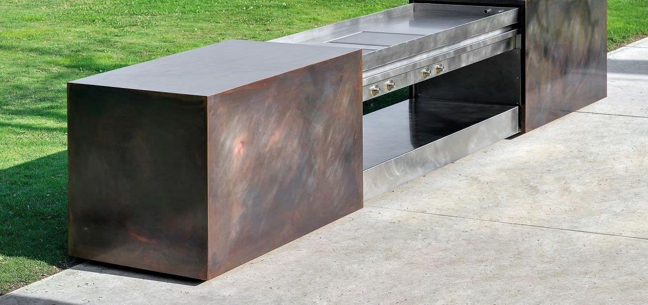 Cucina esterno acciaio cerca con google outdoor - Cucina per esterno ...