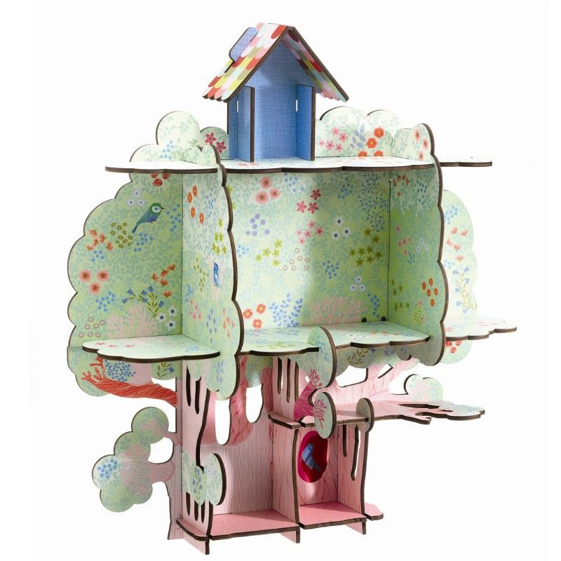 29 april - New delivery by Djeco, we love this treehouse! Each day one pin that reflects our day.