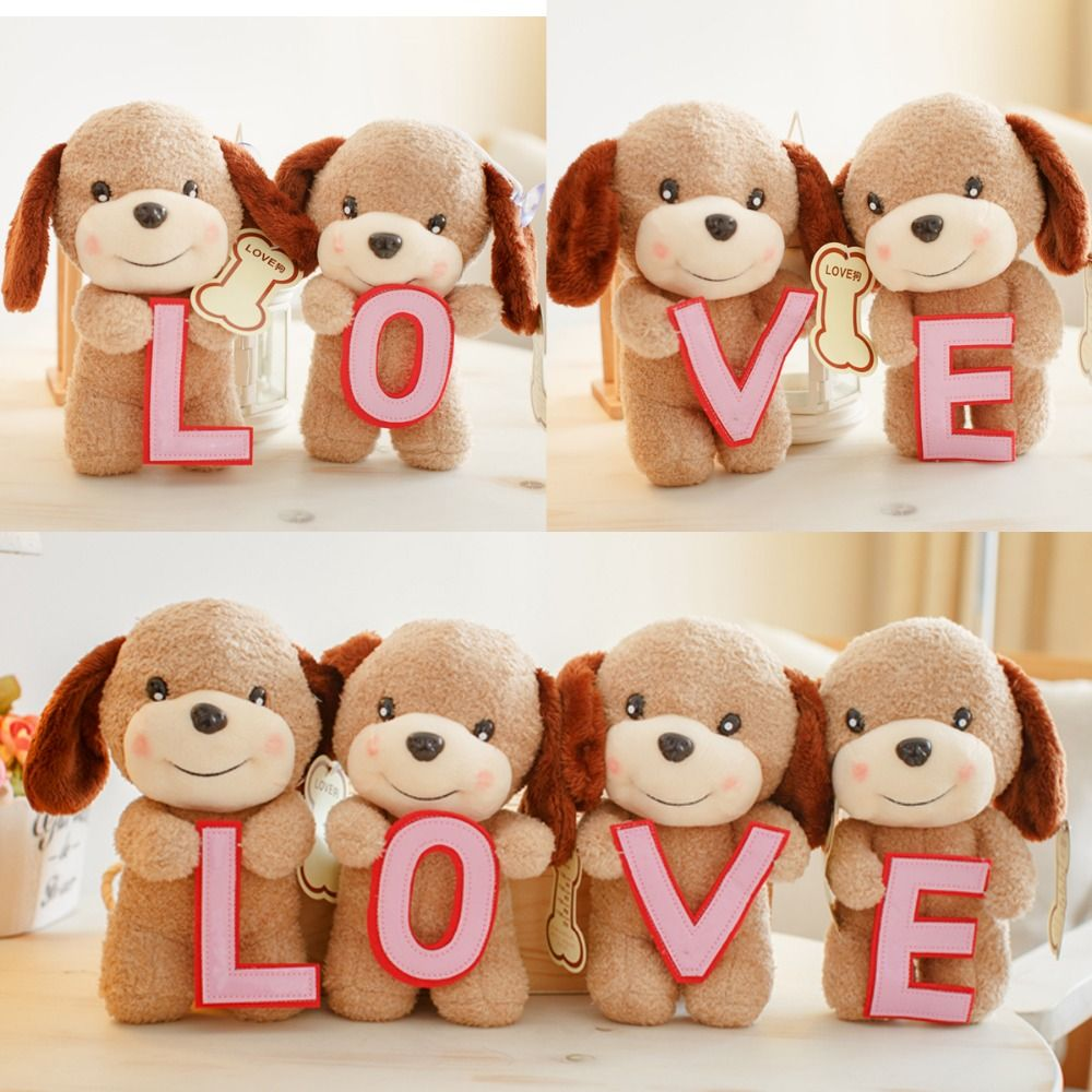 Teddy bear toys images  set cm LOVE teddy dog little plush doll wedding gift novelty