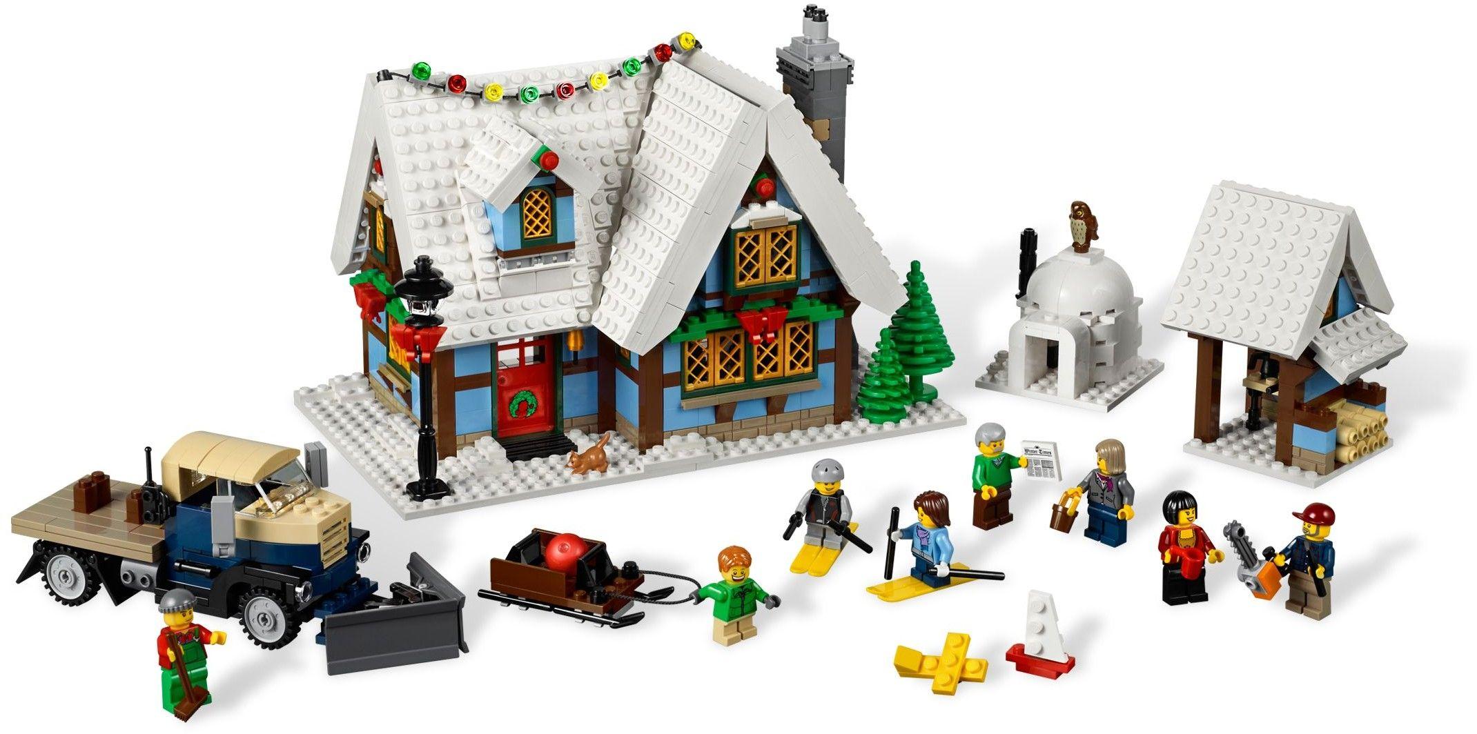 10229 1 Winter Village Cottage Lego Christmas Village Lego Winter Lego Christmas