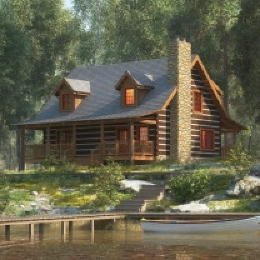 Belmont I Log Floor Plan Stonemill Log Timber Homes Craftsman House Plans Small Log Homes Log Cabin Rustic