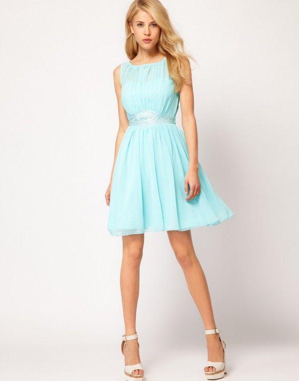 Resultado De Imagen Para Vestidos Color Pastel Cortos