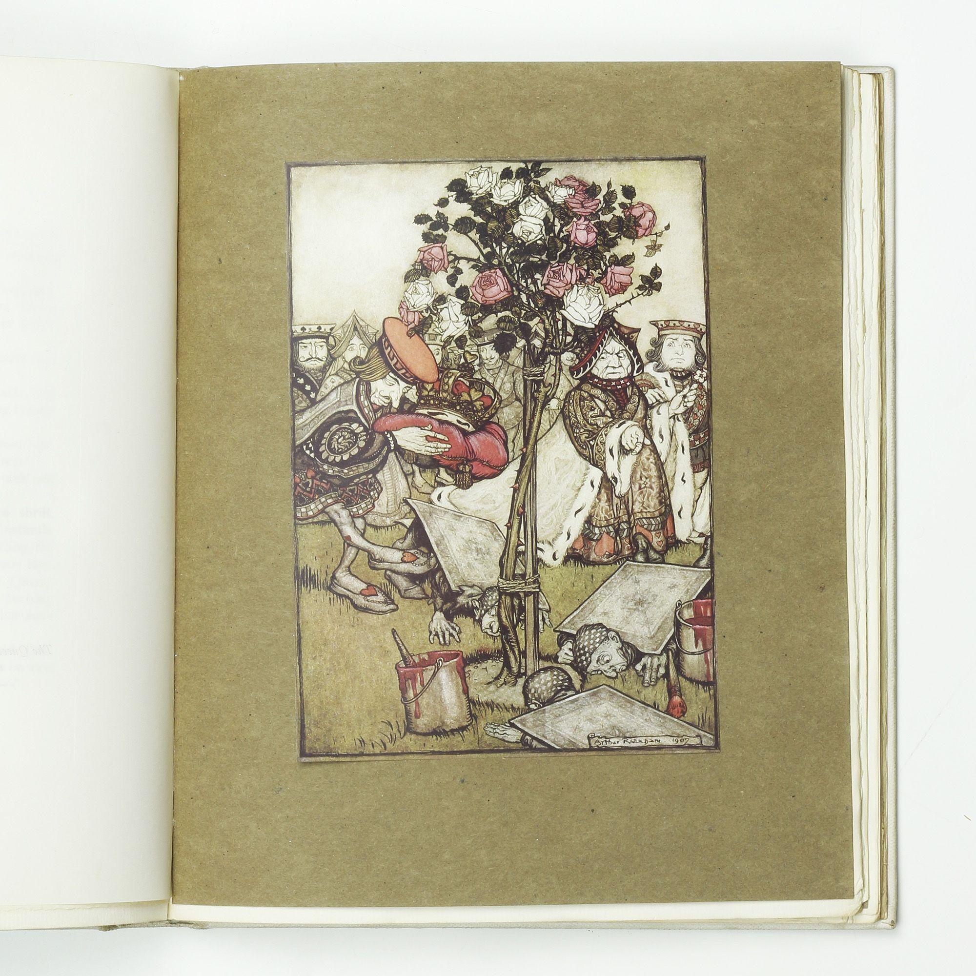 Alice's Adventures in Wonderland by RACKHAM, Arthur - Jonkers Rare Books