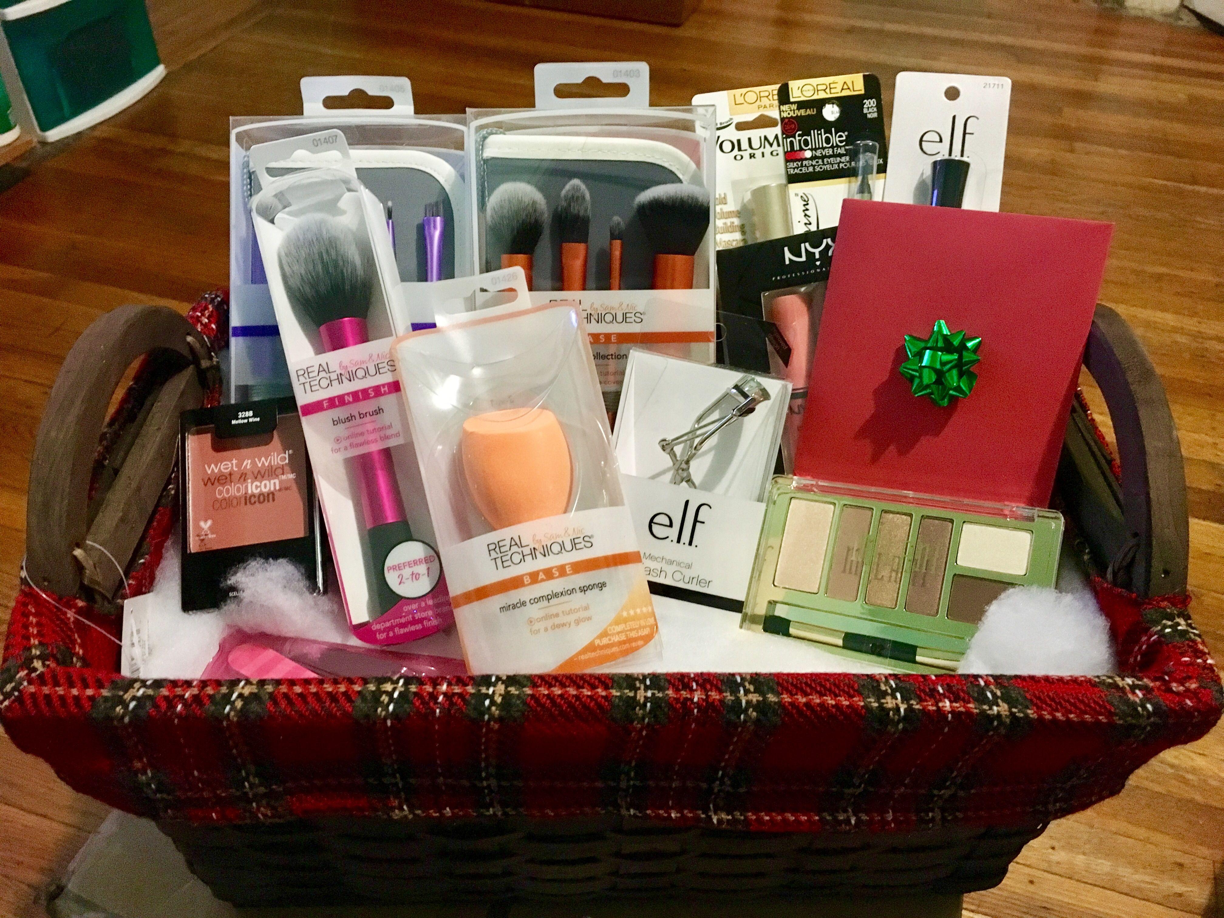 Makeup Lovers Gift Basket Makeup Gifts Basket Gifts For Makeup Lovers Birthday Gift Baskets