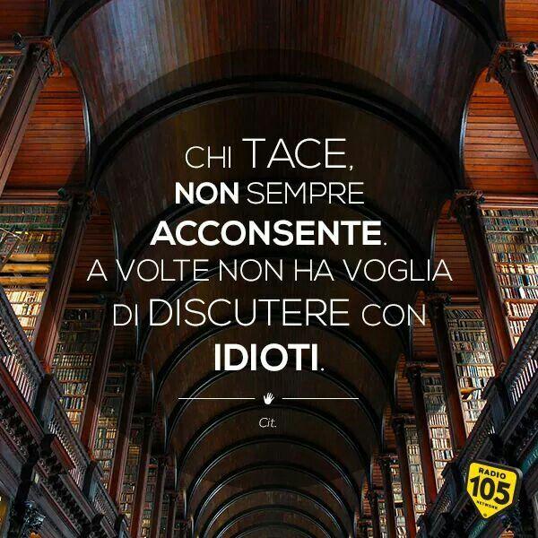 Di discutere con idioti impara a parlare italiano for Discutere it