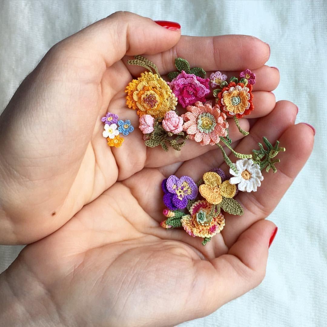 Best 12 Easy and Cute Free Crochet Flowers Pattern Image Ideas for new Season 2019 Part 2; crochet flowers; crochet flowers #crochetflowers