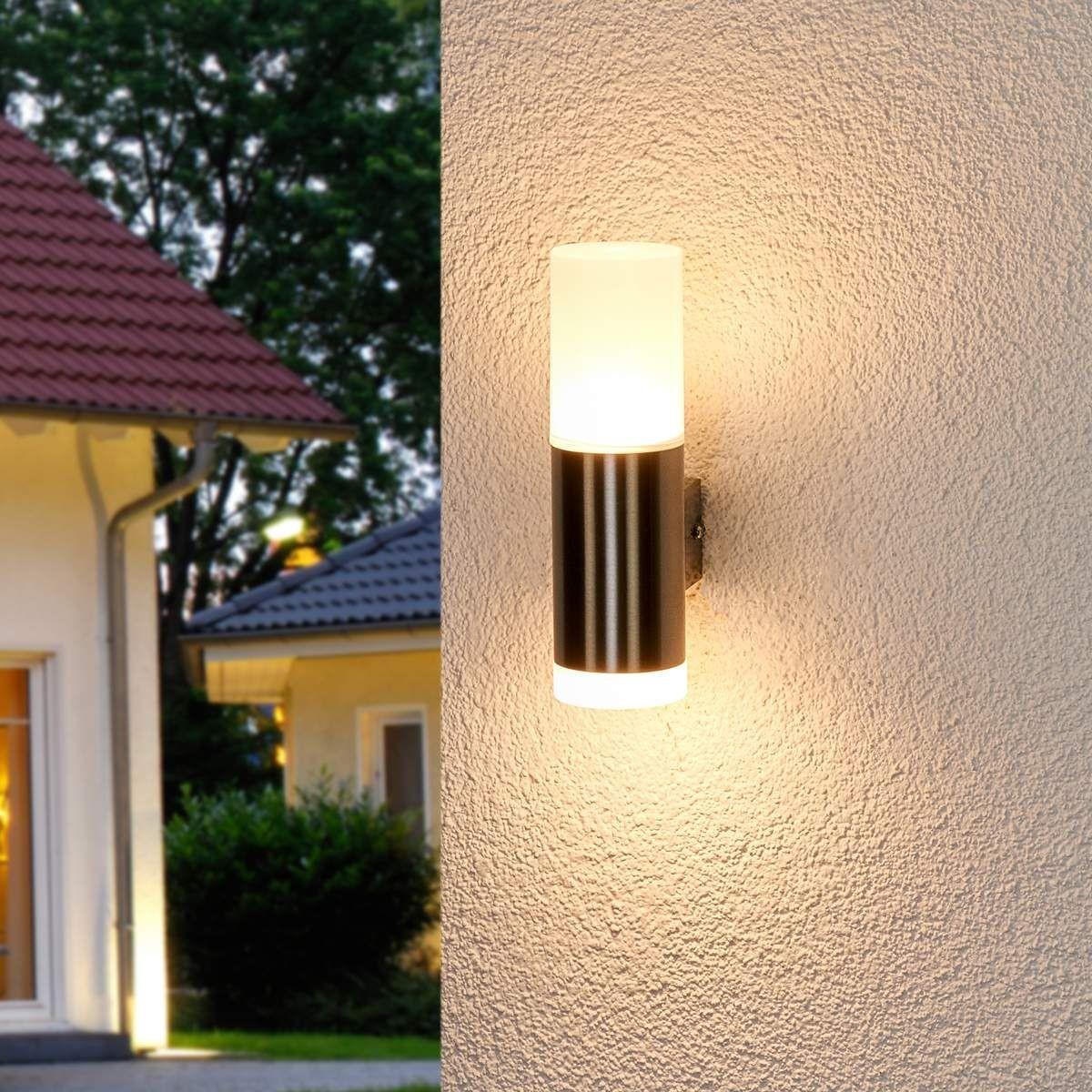 Applique Extérieure Eclairage Haut Et Bas applique extérieure en inox moderne led - taille : taille