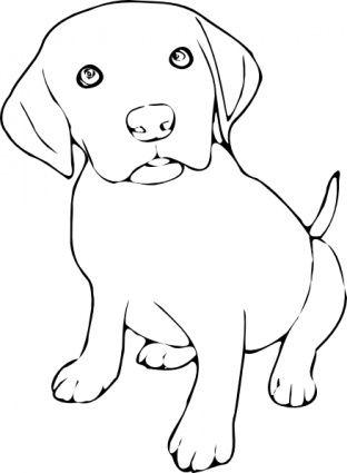 Download Puppy Clip Art Vector Free Hund Malen Ausmalbilder Hunde Hund Zeichnen