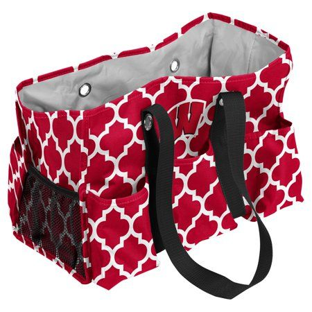 Wisconsin Badgers Quatrefoil Jr Caddy, Red | Products | Ohio state