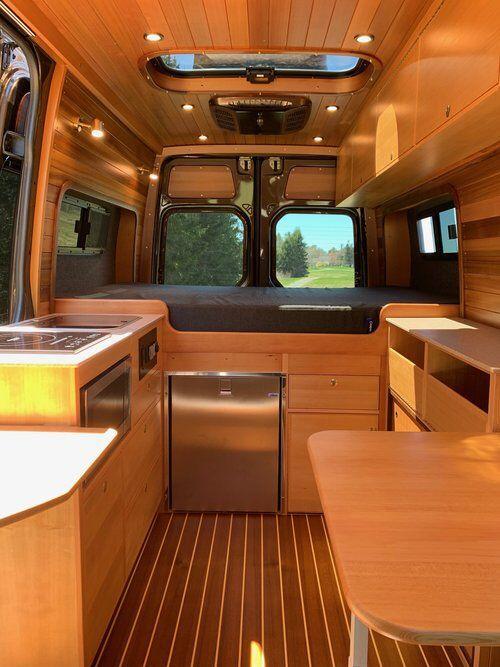 WENDEN Land Yacht | Mercedes Sprinter 144 Van Conversion - AWOL Adventure Rigs   - Road campers -