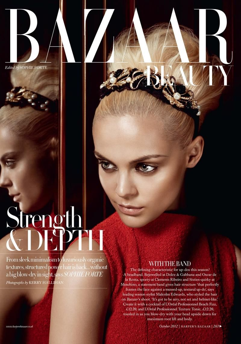 Strength and Beauty (Harper's Bazaar UK) Harpers bazaar