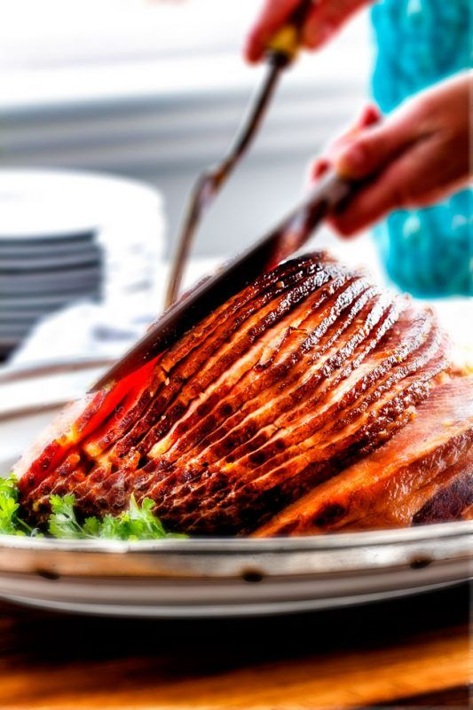 40 of the Most Festive Christmas Dinner Ideas Out There   Christmas dinner, Baked ham glaze ...
