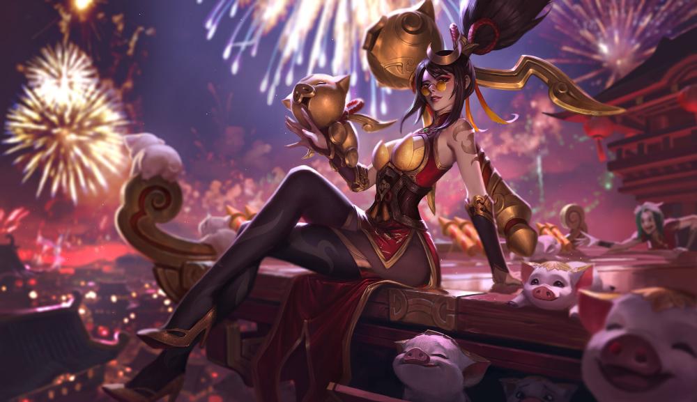 Artstation Firecracker Vayne Bo Chen Lol League Of Legends League Of Legends Lol Champions