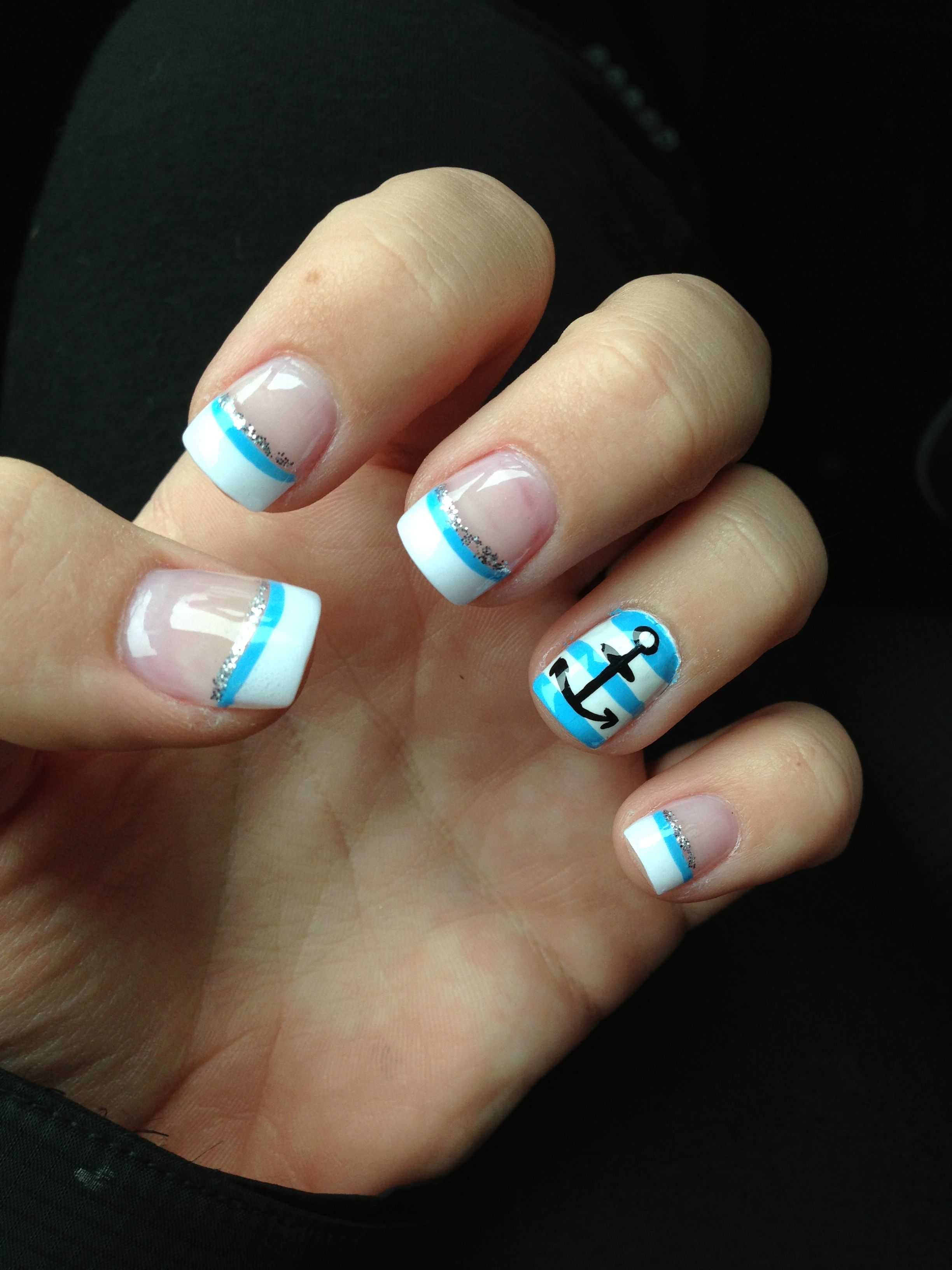 New Nail Polish Trends: New Anchor Nails :)