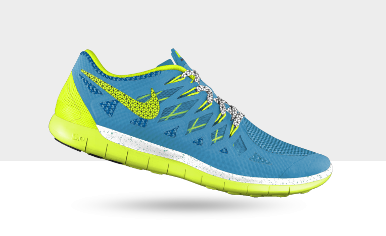 Love these super bright Nike iD's!