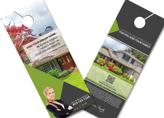Real Estate Door Hanger Template Pinterest Door Hanger Template - Real estate door hanger templates