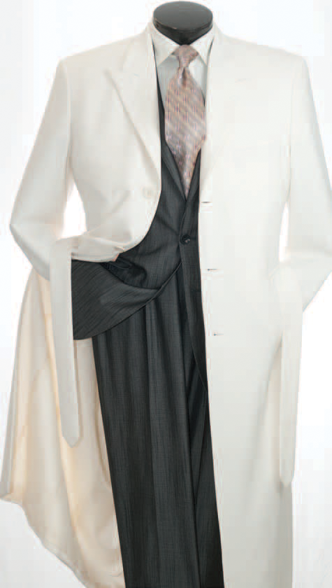 aa274e0a33a7 Vittorio St. Angelo Men s Full 54 Inch Length Maxi Coat - Clothing  Connection Online