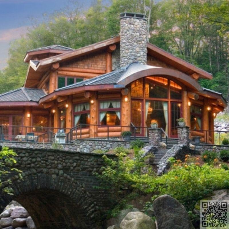 Log Cabin Log Homes Rustic Home Design Timber House
