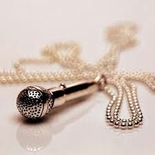 Mic necklace