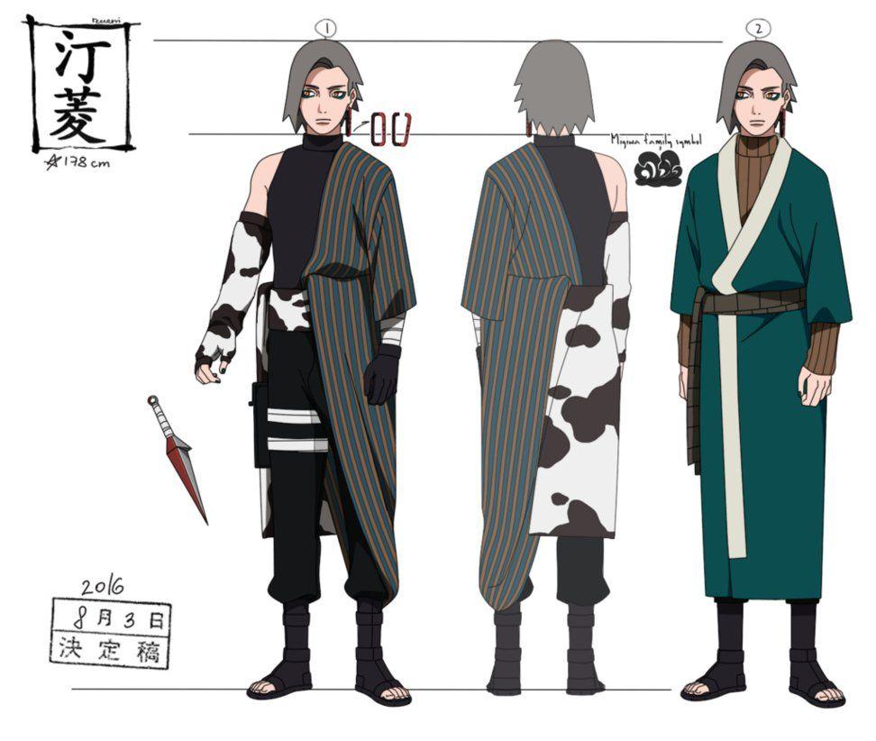 My Naruto Oc Mitsuki Umazaki Male By Black Pantheress On: Migiwa Hishi By Reveni On DeviantArt