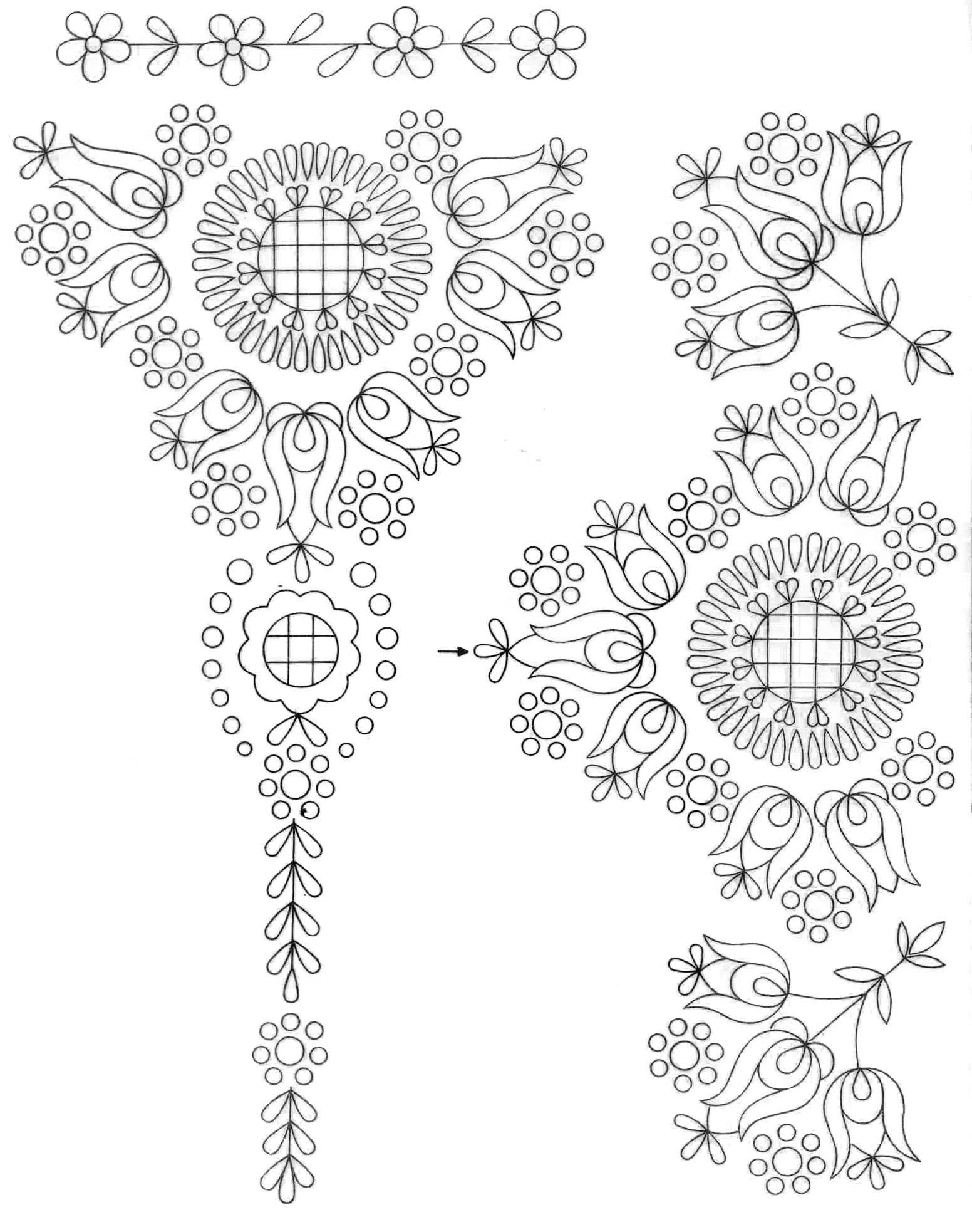 Hungarian & East Europian Folk | diseños | Pinterest | Bordado ...