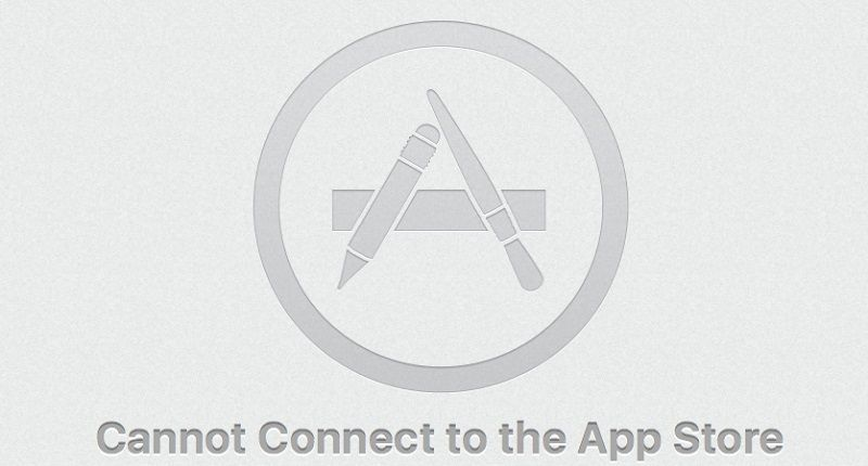 Fixed Cannot Connect to the App Store Mac Mac app