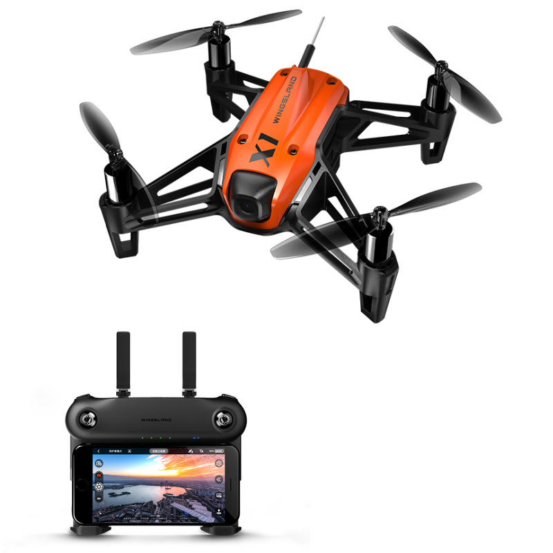 WINGSLAND X1 Mini WIFI FPV With 640P HD Camera Optical