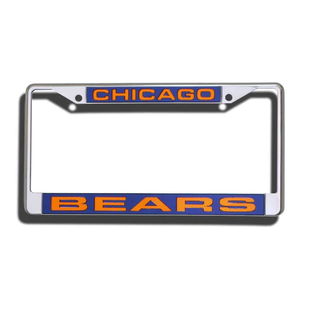 Wincraft NFL Chicago Bears LIC Plate Frame Full Color