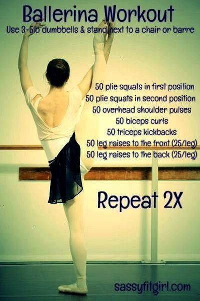 #tanzerschritte #exclusively #absolutely #ballerina #modifiers #included #workouts #30minute #requir...