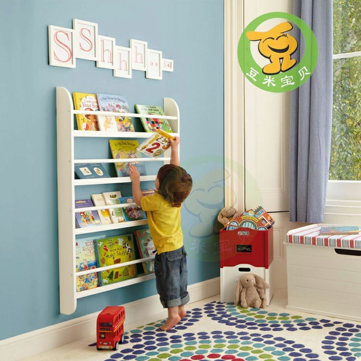 Image Result For Wall Mounted Book Rack