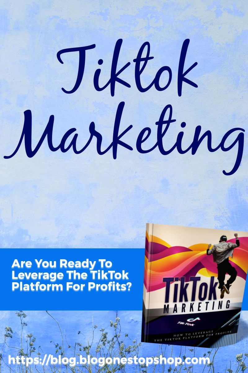Tik Tok Marketing Ebook And Pdf Set Ebook Marketing Social Media Marketing Business Marketing Strategy Business