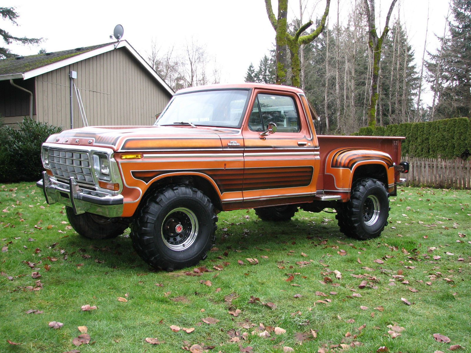 1979 ford f 150 ranger 4x4 flareside shortbed 351