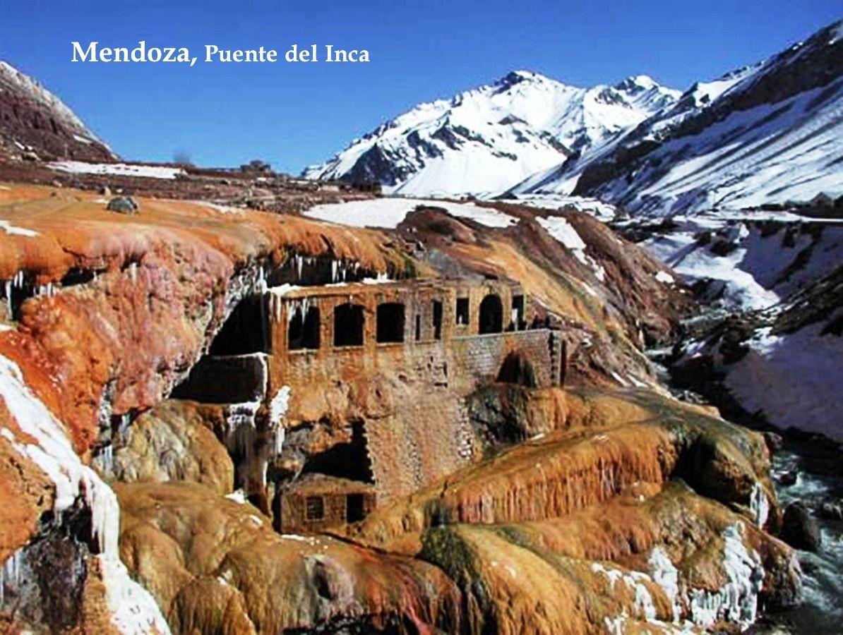 Mendoza, Puente del Inca