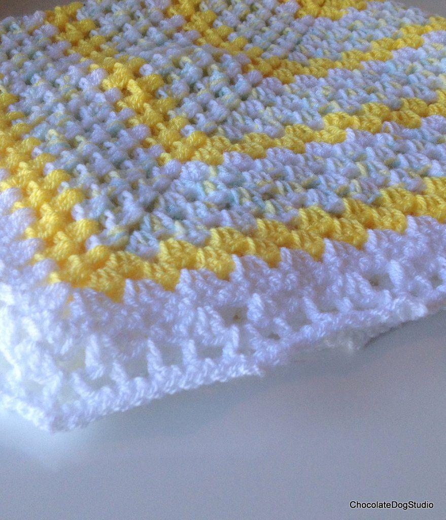 Crochet baby blanket, baby afghan, granny square | Crochet ...