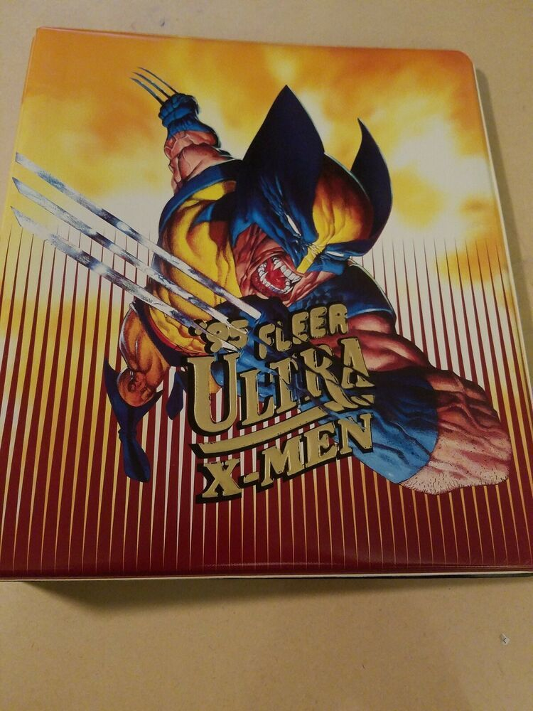 95 Fleer Ultra X Men Binder And 129 Different Trading Cards Used Htf In 2020 Marvel Xmen X Men Casper The Friendly Ghost