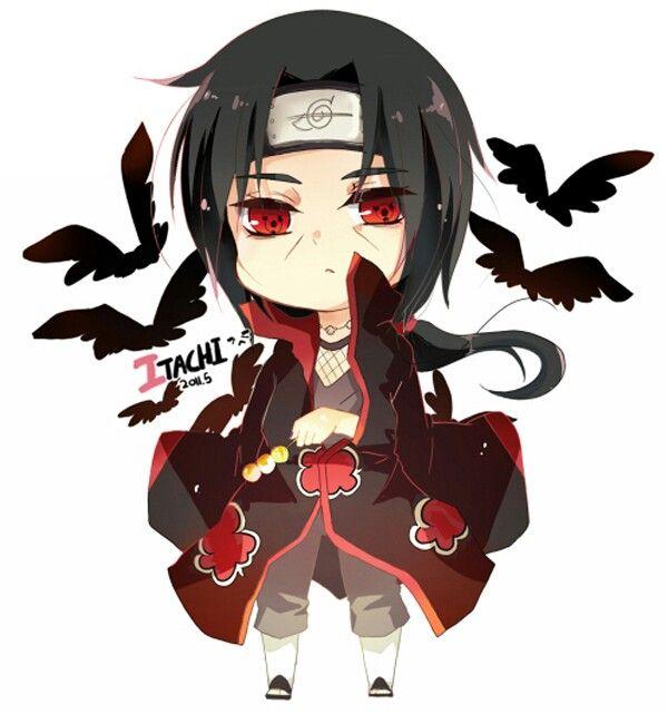 Chibi Itachi Uchiha Personagens Chibi Chibi Personagens De Anime