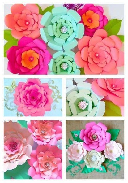 How to make easy diy giant paper flowers carols craft room how to make easy diy giant paper flowers crafts gardening how to mightylinksfo
