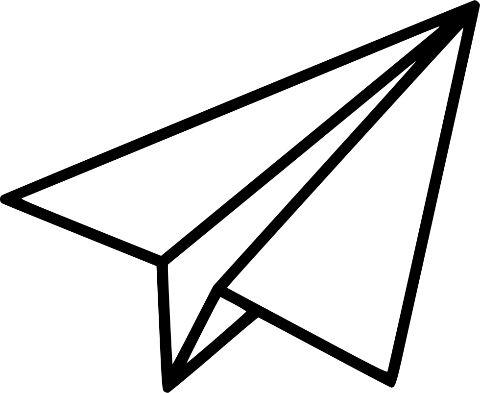 Black Shape Paper Plane Png Image Paper Plane Paper Airplane Drawing Paper Plane Tattoo