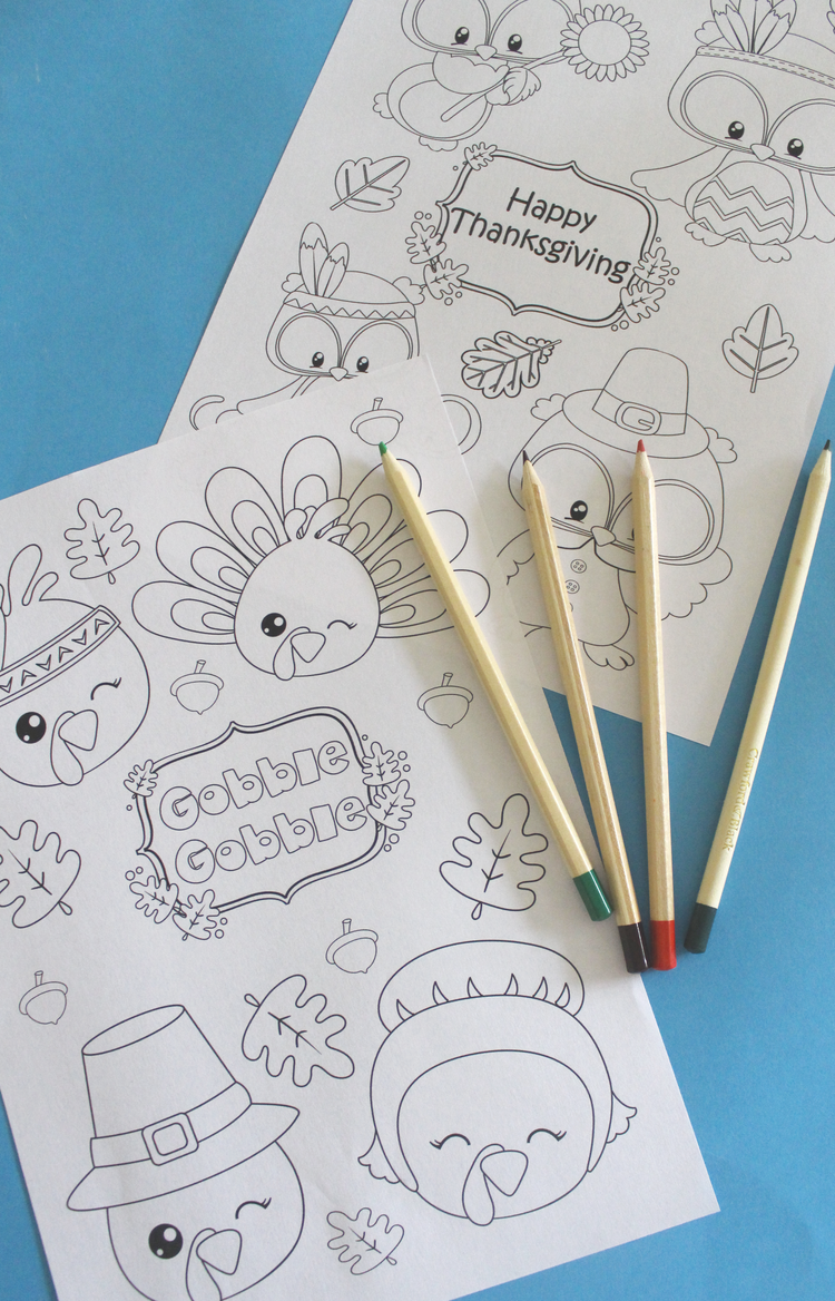 Free Thanksgiving Coloring Page Printables... | Thanksgiving ...