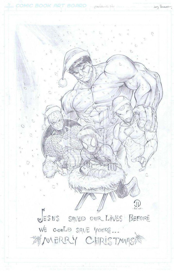 Jesus is My Super Hero by JoeyVazquez on deviantART