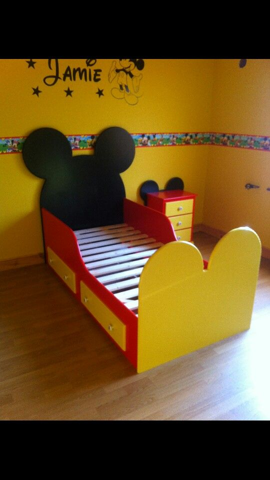 Mickey Mouse Bed Mickey Mouse Bedding Mickey Mouse Room Mickey Mouse Bedroom