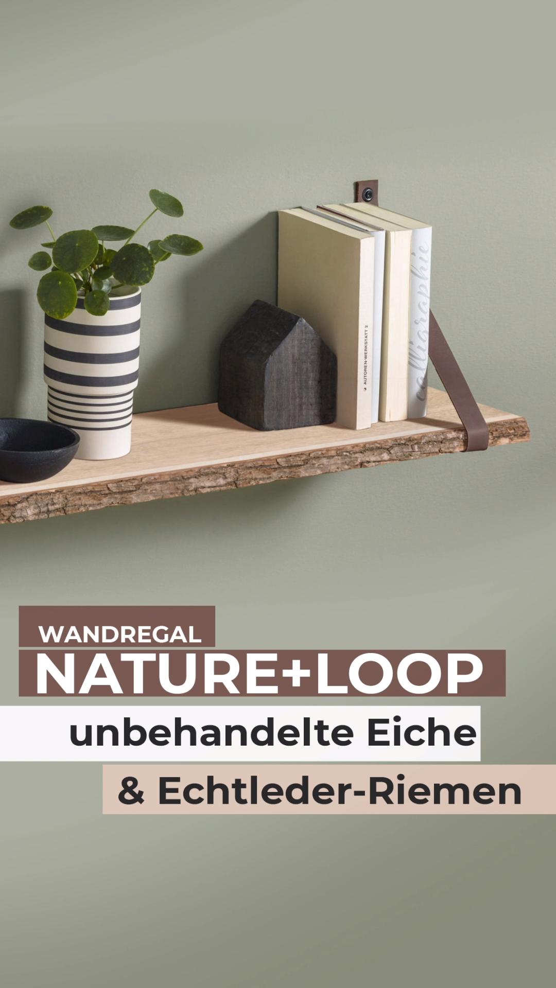Nature Loop Regal Lederriemen 60x20 Cm Video In 2020 Regal