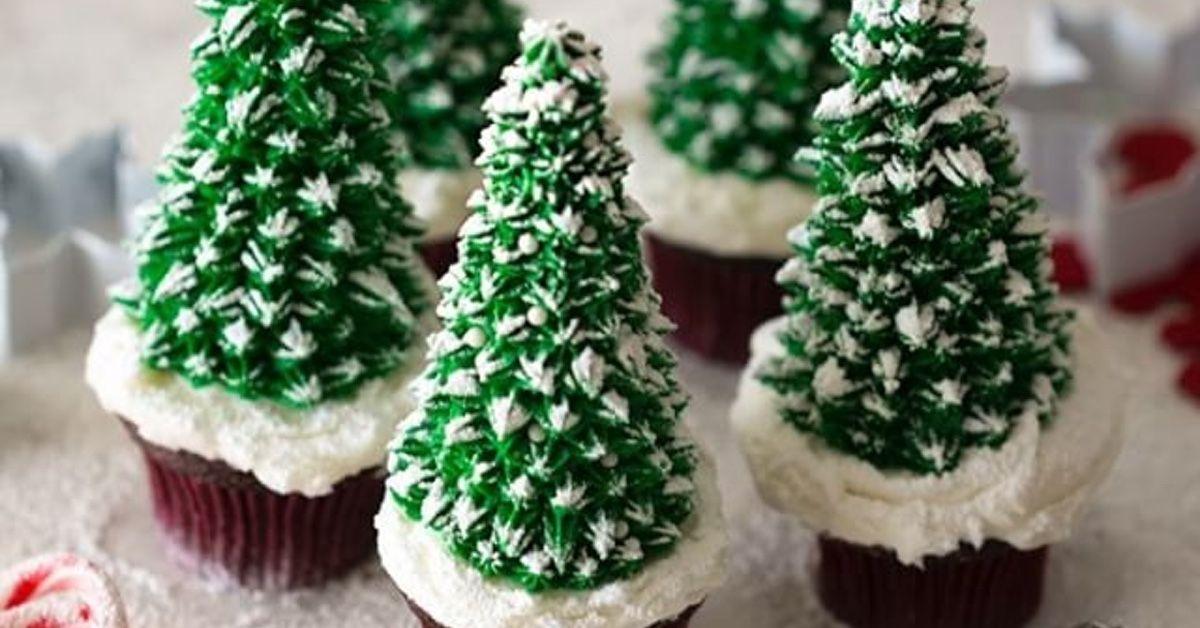 Muffin Tannenbaum.Tannenbaum Muffins Zu Weihnachten Weihnachten Backen Und Kochen
